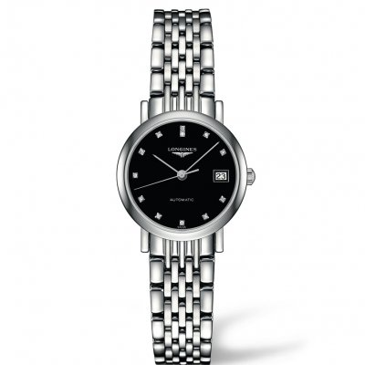 Longines Elegant Collection L43094576 Diamanty, Automat, 25.50 mm