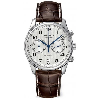 Longines Master Collection L26294783 Arabské číslice, Automat Chronograf, 40 mm