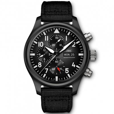 IWC Pilot´s Watches IW389101 TOP GUN, Automat Chronograf, 44.5 mm