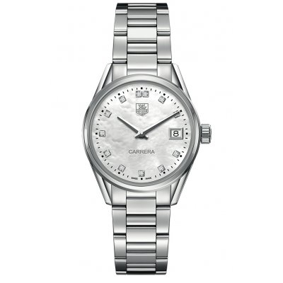 TAG Heuer Carrera WAR1314.BA0778 Diamanty, Quartz, 32 mm