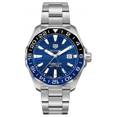 TAG Heuer Aquaracer GMT WAY201T.BA0927 Vode odolnosť 300M, Automat, 43 mm