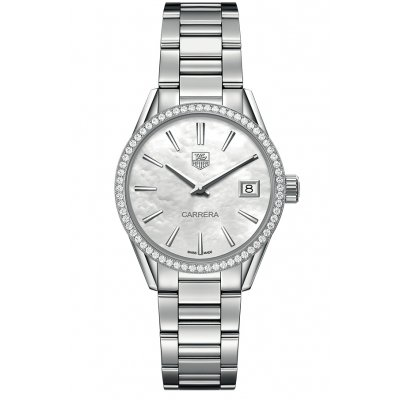TAG Heuer Carrera WAR1315.BA0778 Diamanty, Quartz, 32 mm
