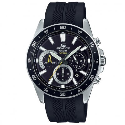 Casio EDIFICE EFV 570P-1A Vode odolnosť 100M, Quartz Chronograf, 47 mm