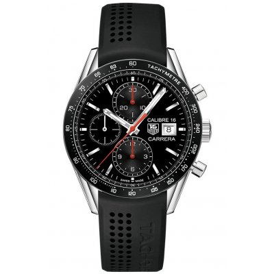 TAG Heuer Carrera Calibre 16 CV201AM.FT6040 Automat Chronograf, 41 mm
