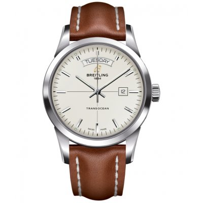 Breitling Transocean Day & Date A4531012/G751/433X Water resistance 100M, Automatic, 43 mm