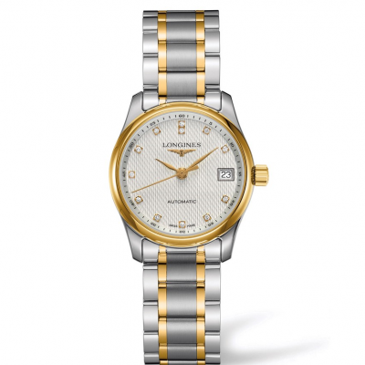 Longines Master Collection L22575777 Zlato&Diamanty, Automat, 29 mm