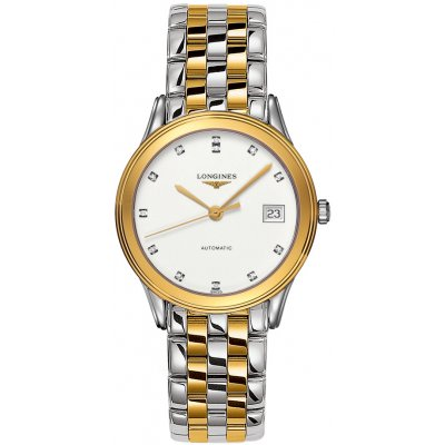 Longines Flagship L47743277 Diamanty, Automat, 36 mm