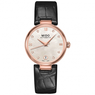 Mido Baroncelli Donna M0222073611610 Diamanty, Automat, 33 mm