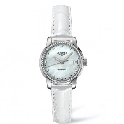 Longines Saint-Imier Collection L22630872 Diamanty, Automat, 26 mm