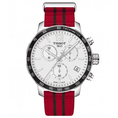 Tissot T-Sport T095.417.17.037.04 QUICKSTER CHICAGO BULLS, Quartz Chronograf, 42 mm