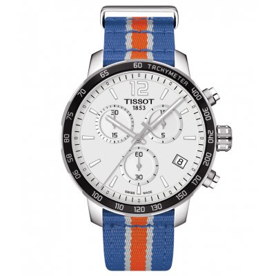 Tissot T-Sport T095.417.17.037.06 QUICKSTER NY KNICKS, Quartz Chronograf, 42 mm