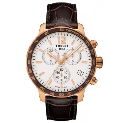 Tissot T-Sport T095.417.36.037.00 QUICKSTER, Quartz Chronograf, 42 mm