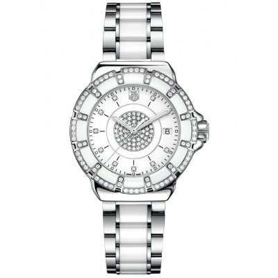 TAG Heuer Formula 1 WAH121D.BA0861 Diamonds, Quartz, 37 mm