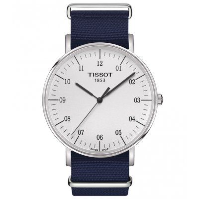 Tissot T-Classic T109.610.17.037.00 EVERYTIME, Quartz, 42 mm