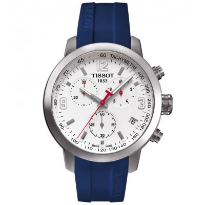 Tissot T-Sport T055.417.17.017.01 PRC 200 RBS 6 NATIONS, Quartz Chronograf, 42 mm
