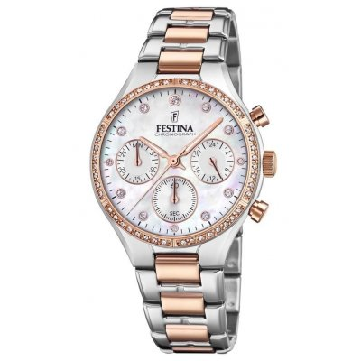 Festina Boyfriend F20403/1 Quartz, Chronograf, 36 mm