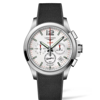 Longines Conquest V.H.P L37174769 Quartz, Chronograph, 42 mm