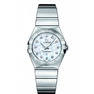 Omega Constellation 123.10.27.60.55.002 Diamanty, Quartz, 27 mm