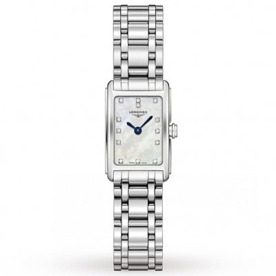 Longines DolceVitta L52584876 Diamanty, Quartz, 17.40 x 27.00 mm