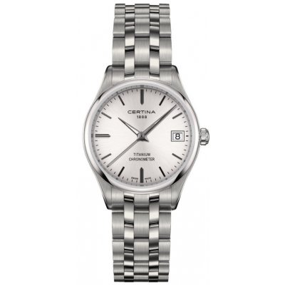 Certina DS-8 Lady COSC C033.251.44.031.00 Quartz, Vode odolnosť 100M, 30 mm