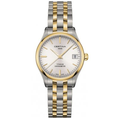 Certina DS-8 Lady COSC C033.251.55.031.00 Quartz, Vode odolnosť 100M, 30 mm