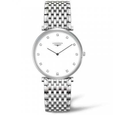Longines La Grande Classique de Longines L47664176 Ultra tenké, Diamanty, Quartz, 37 mm