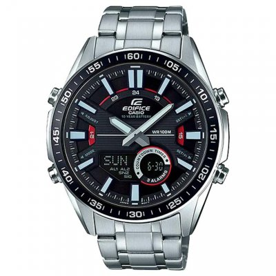 Casio EDIFICE EFV C100D-1A Vode odolnosť 100M ,Quartz Chronograf, 49 mm