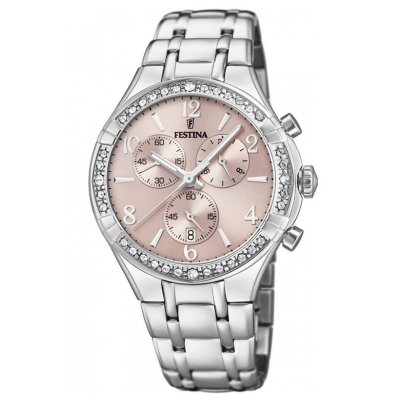 Festina Boyfriend F20392/3 Quartz, Chronograf, 39.25 mm
