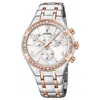 Festina Boyfriend F20394/1 Quartz, Chronograph, 39.25 mm