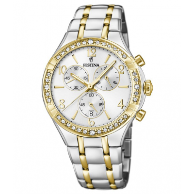 Festina Boyfriend F20396/1 Quartz, Chronograph, 39.25 mm