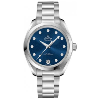 Omega Seamaster Aqua Terra 150M 220.10.34.20.53.001 Diamonds, Automatic, 34 mm
