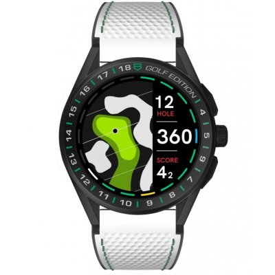 TAG Heuer Connected GOLF EDITION SBG8A82.EB0206 45 mm, Titánové pouzdro
