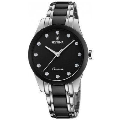 Festina Ceramic F20499/3 SWAROVSKI, Quartz, 35 mm