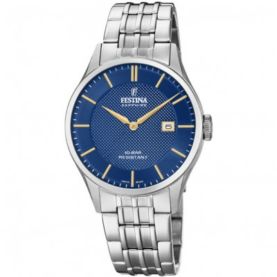 Festina Klasik SWISS MADE F20005/3 Quartz, 40 mm