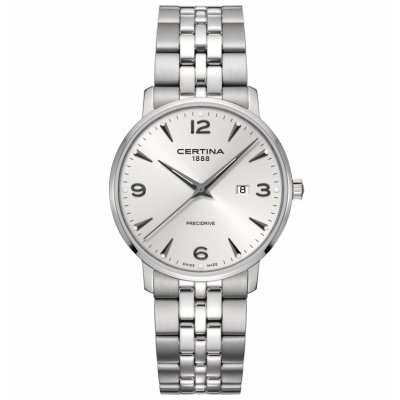 Certina DS Caimano C035.410.11.037.00 Arabské číslice , Quartz, 39 mm