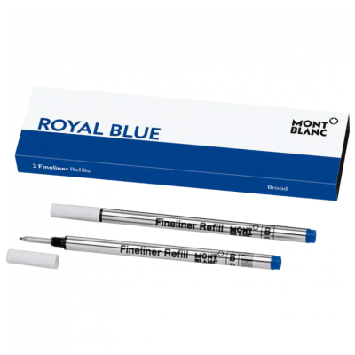 Mont Blanc 124500 Tuhy, Fineliner, Royal Blue, (B)