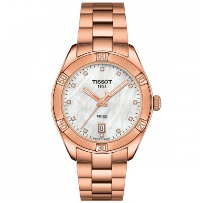 Tissot T-Classic PR 100 T101.910.33.116.00 Diamanty, Quartz, 36 mm