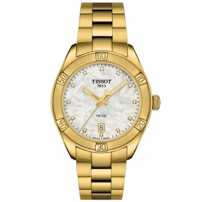 Tissot T-Classic PR 100 T101.910.33.116.01 Diamanty, Quartz, 36 mm