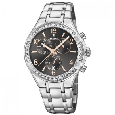 Festina Boyfriend F20392/4 Quartz, Chronograph, 39.25 mm