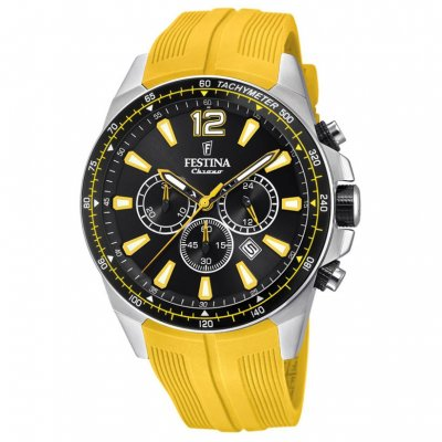Festina The Originals F20376/4 Quartz, Chronograf, Vode odolnosť 100M, 46.80 mm