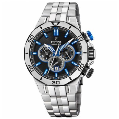 Festina Chrono bike F20448/5 Quartz Chronograf, Vode odolnosť 100M, 44 mm