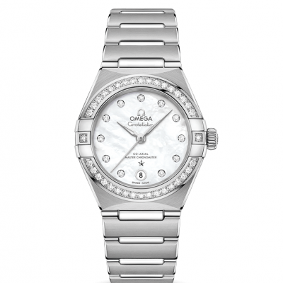 Omega Constellation Manhattan 131.15.29.20.55.001 In-house calibre, Diamonds, 29mm