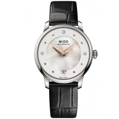 Mido Baroncelli Lady Day & Night M0392071610600 Diamanty, Automat, 27.90 mm