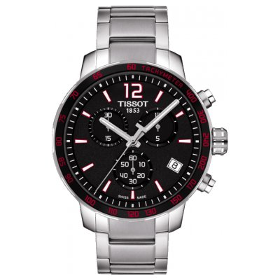 Tissot T-Sport T095.417.11.057.00 QUICKSTER, Quartz Chronograf, 42 mm