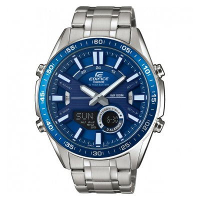 Casio EDIFICE EFV C100D-2A Vode odolnosť 100M ,Quartz Chronograf, 49 mm