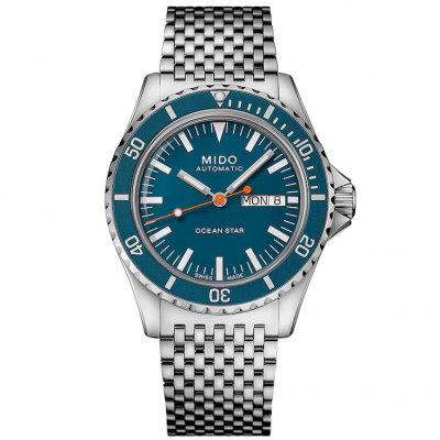 Mido Ocean Star Tribute M0268301104100 Powermatic 80, Vode odolnosť 200M, 40.50 mm