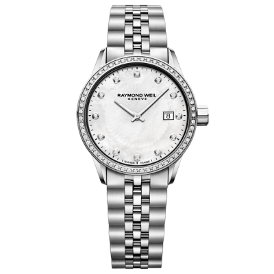 Raymond Weil Freelancer 5629-STS-97081 Quartz, diamanty, 29 mm