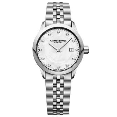 Raymond Weil Freelancer 5629-ST-97081 Quartz, diamanty, 29 mm