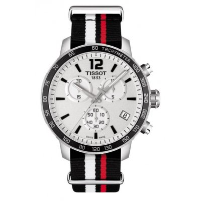 Tissot T-Sport T095.417.17.037.01 QUICKSTER, Quartz Chronograf, 42 mm