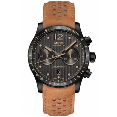 Mido Multifort Chronograph Adventure M0256273606110 Automat Chronograph, Water resistance 100M, 44 mm